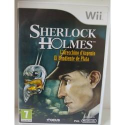 SHERLOCK HOLMES : EL PENDIENTE DE PLATA NINTENDO Wii - Usado, con manual