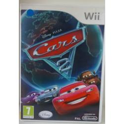 DISNEY PIXAR CARS 2 NINTENDO Wii - Usado, con manual