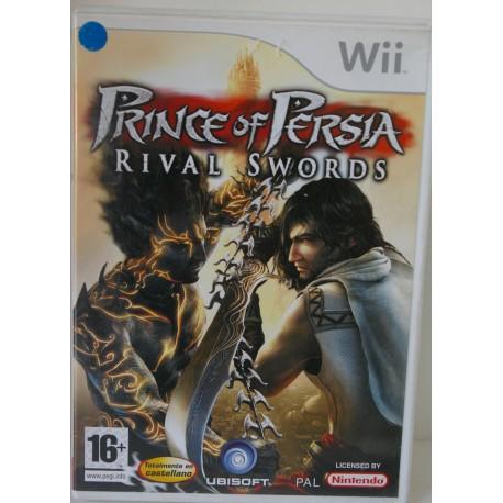 PRINCEOF PERSIA RIVAL SWORDS NINTENDO WII - Usado, con manual