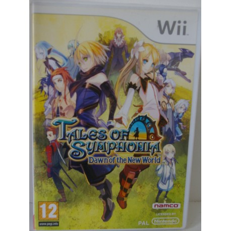 TALES OF SYMPHONIA NINTENDO WII - Usado, impecable