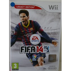 FIFA 14 NINTENDO WII - Usado, con manual
