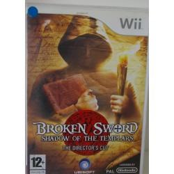 BROKEN SWORD : SHADOW OF THE TEMPLARS NINTENDO Wii - Usado