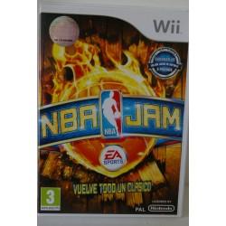 NBA JAM NINTENDO WII - Usado, con manual, impecable