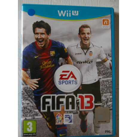 FIFA 13 Nintendo Wii U - Usado, cd impecable