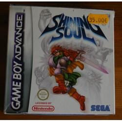 SHINING SOUL Game Boy Advance - Usado, completo