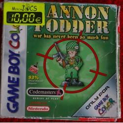 CANON FODDER Game Boy Color -Usado, con manual