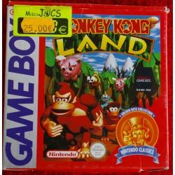 DONKEY KONG LAND Game Boy - Usado, completo