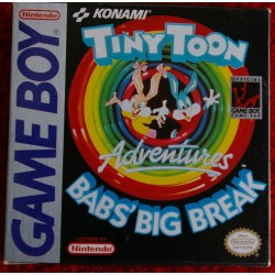 TINY TOON ADVENTURES BAB´S BIG BREAK Game Boy - Usado
