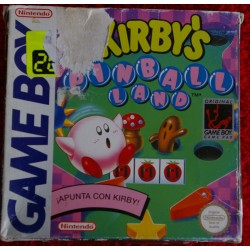KIRBY´S PINBALL LAND Game Boy - Usado