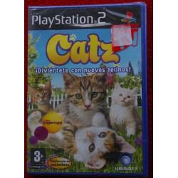 CATZ ¿Diviertete con nuevos felinos PS2 - Nuevo Precintado