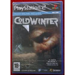 COLD WINTER PS2 - Nuevo Precintado