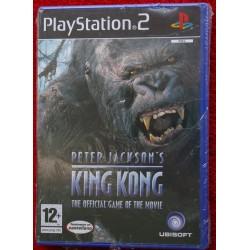 KING KONG de PETER JACKSON PS2 - Nuevo