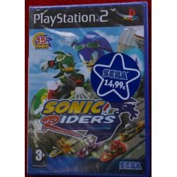 SONIC RIDERS PS2 - Nuevo Precintado