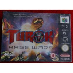 TUROK RAGE WARS NINTENDO 64 - Nuevo Precintado