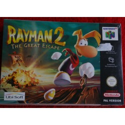 RAYMAN 2 THE GREAT ESCAPE NINTENDO 64 - Nuevo Precintado
