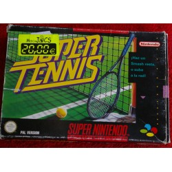 SUPER TENNIS SNES - Usado sin manual