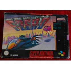 F-ZERO SNES SUPER NINTENDO - Usado, sin manual