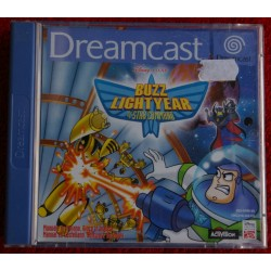 BUZZ LIGHTYEAR DREAMCAST DC - Usado,con manual