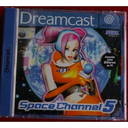 SPACE CHANNEL 5 DREAMCAST DC - Usado, completo