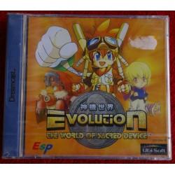 EVOLUTION The World of Sacred Devices Dreamcast - Nuevo Precintado