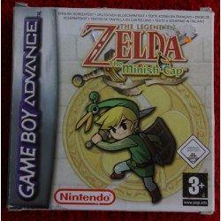 THE LEGEND OF ZELDA THE MINISH CAP Game Boy Advance -Usado, completo