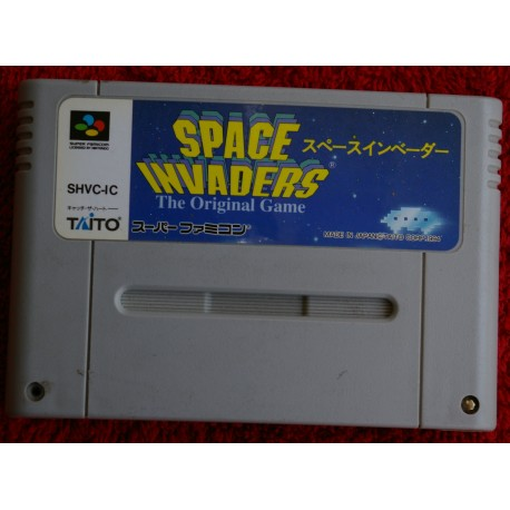 SPACE INVADERS The Original Game Super nes JAP . Solo cartucho