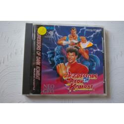 AGRESSORS of DARK KOMBAT Neo Geo CD -Usado, impecable
