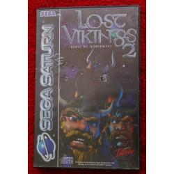 LOST VIKINGS 2 Caja Dura SEGA SATURN - Usado, completo