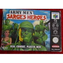 ARMY MEN SARGE´S HEROES NINTENDO 64 - Usado, completo