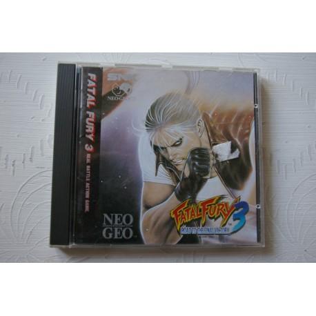 FATAL FURY 3 NEO GEO CD -Usado, cd impecable