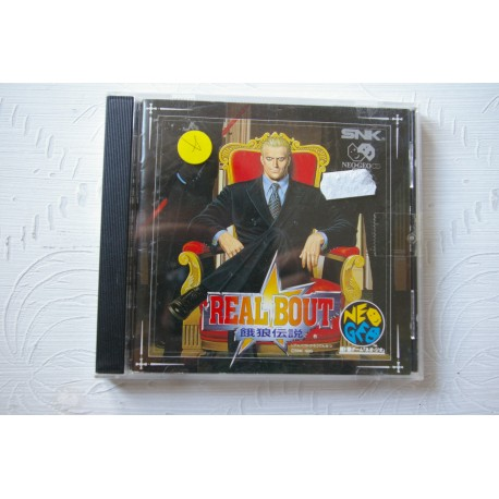 REAL BOUT NEO GEO CD JAP -Usado, cd impecable