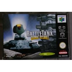 BATTLETANX GLOBAL ASSAULT NINTENDO 64 -Nuevo precintado